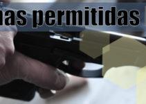 Qué tipos de armas están permitidas en España