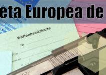 Tarjeta Europea de Armas de fuego